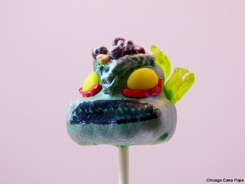 Skylanders Prism Break cake pops