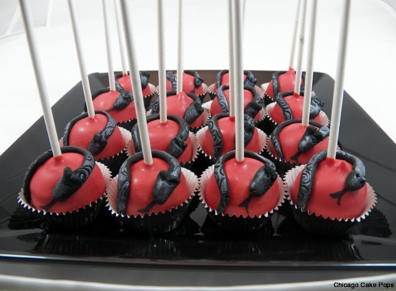 Chinise New Year theme B-Day Snake Cake pops