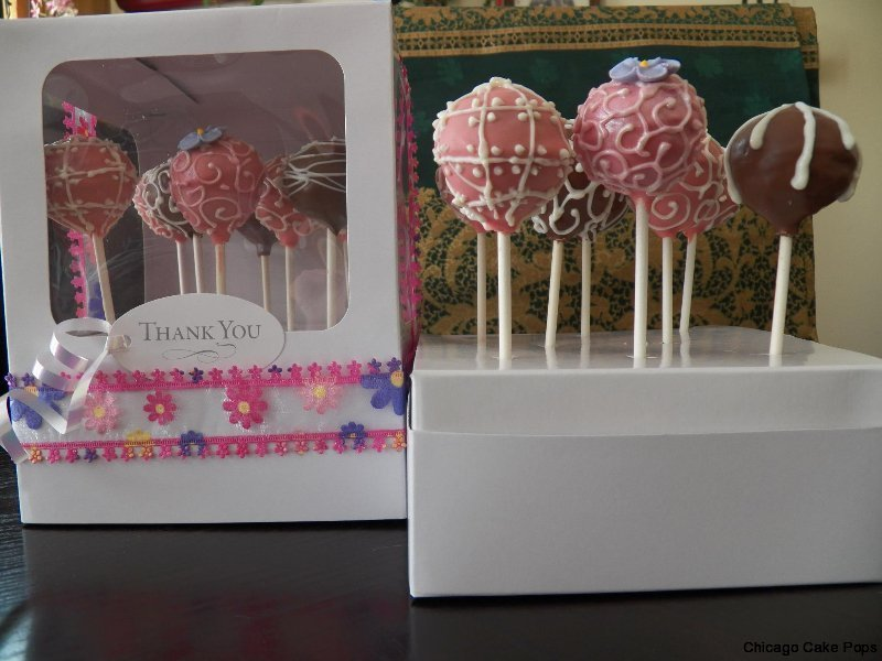 thank you, get well cake pops