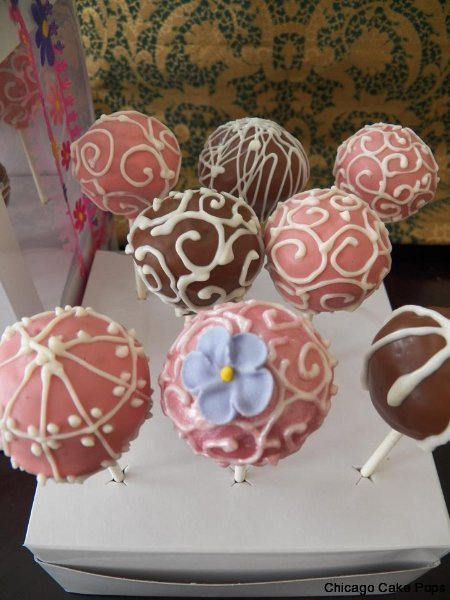 vintage thank you cake pops