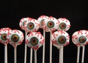 Spooky eyes, Halloween cake pops