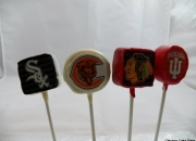Sport teams cake pops