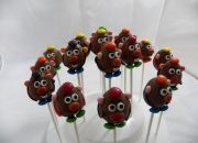 Mr PotatoHead Cake Pops