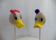 Donald and Dasy Cake Pops
