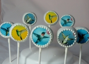 Hummingbird Cake Pops