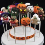 Custom cakepops design ideas for halloween