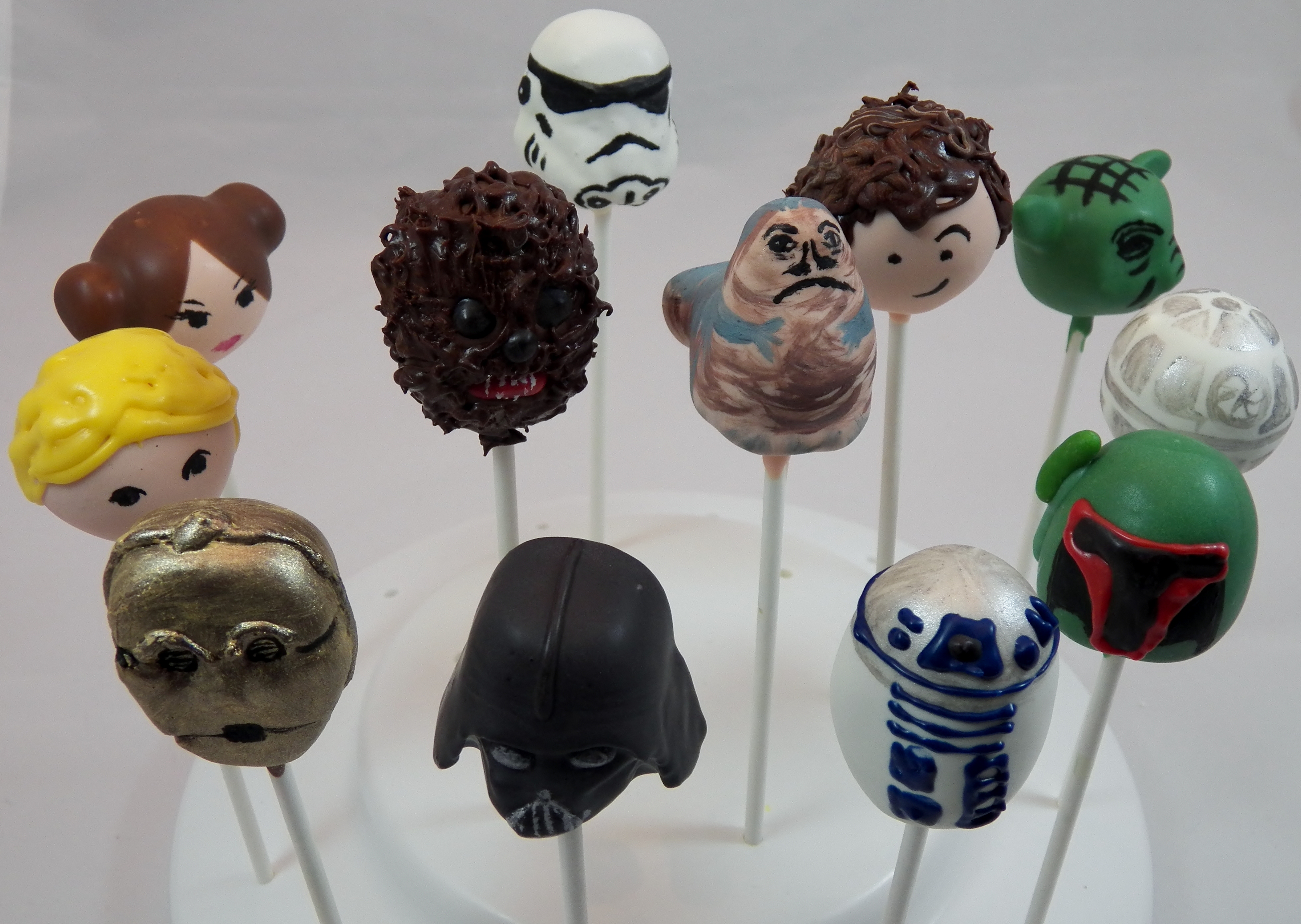 Star Wars Cake Pop Images : Star Wars Birthday Party in Chicago Chicago Cake Pops