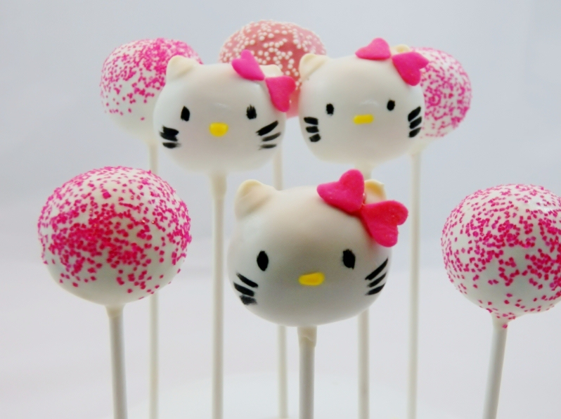 hello kitty cake pops - photo #33