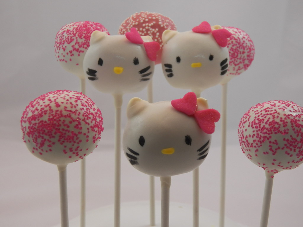 hello kitty cake pops - photo #15