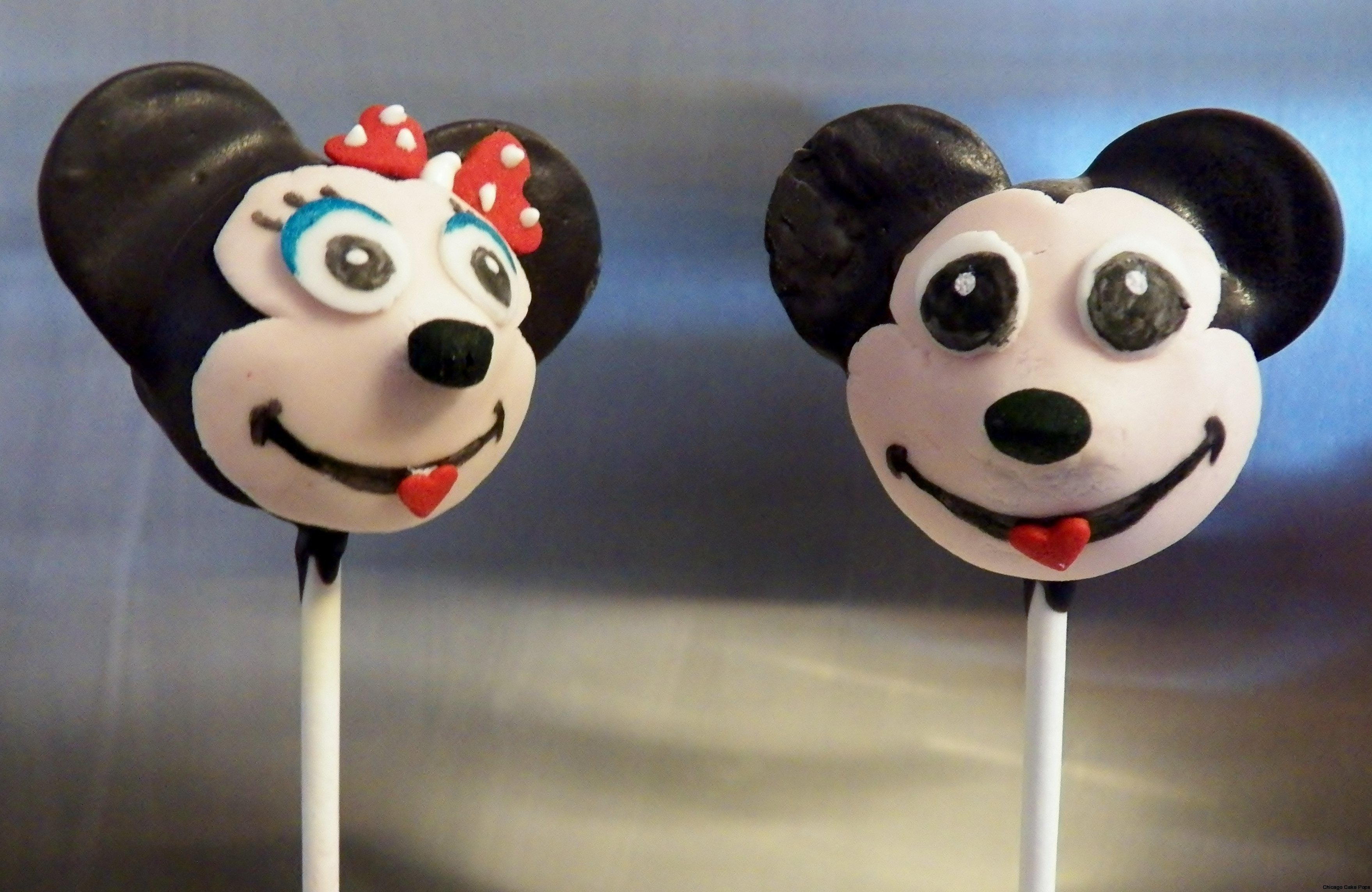 Disney Cake Pops Mickey Mouse Minnie Mouse